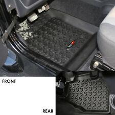 Jeep Wrangler Tj Lj 97-06 Front & Rear Floor Liners Black  X 12987.10