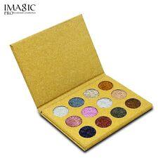 Hot 12 Colors Makeup Rainbow Eyeshadow Diamond Glitter Beauty Eye Shadow Palette 1#