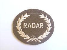 British Army - RADAR in Wreath- Royal Artillery Badge -  NEW - SP1650