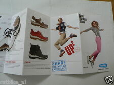 O237 BROCHURE WOLKY SHOP 2016 DUTCH 6 PAGES FOLDED SHOENEN SHOES