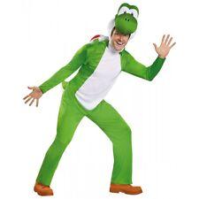 Deluxe Yoshi Costume Mario Brothers Halloween Fancy Dress