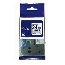 Compatible Brother TZ-251 P-Touch Laminated Black on white Tape 24mm 8m TZE-251