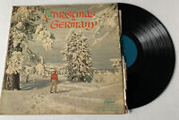 Christmas in Germany Capital Records LP Music Record