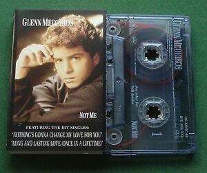 Glenn Medeiros Not Me inc Long & Lasting Love + Cassette Tape - TESTED