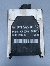 Mercedes SL R129 MAS ECU Module Relay Control Unit 0115458132 M103 Engine 300SL