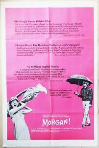 Morgan: A Suitable Case for Treatment 1966 Vanessa Redgrave, David Warner Poster