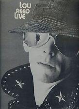 LOU REED live UK 1975 EX LP