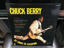 Chuck Berry St. Louis To Liverpool LP Chess 1984 CH 9186 EX