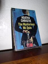 The Mysterious Mr. Quin by Agatha Christie (Dell #D320, 1'st Prt.Dec.1959,PB)