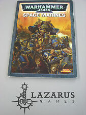 Warhammer 40K Codex Army Book - oop Space Marine 4th ed (J1D25)