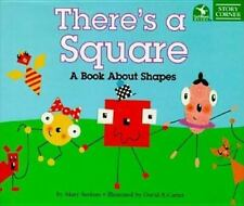 There's a Square: A Book About Shapes (Story Corner)-ExLibrary