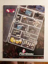 New listing Flambeau Fishing Tackle Box Catalog