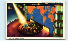Transportation Building Rocket Port Laser New York World's Fair 1939 NYWF PC A39