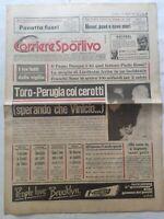 CORRIERE DELLO SPORT 1-4-1979 PAPA GIOVANNI PAOLO II PAOLO ROSSI TORINO-PERUGIA