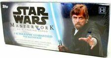 2018 Topps Star Wars Masterwork Trading Cards SEALED HOBBY BOX