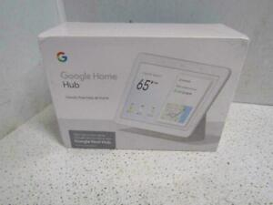 Google Home Nest Hub 7'' with Built-In Google Smart Assistant Chalk New