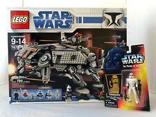 LEGO AT-TE Walker Set 7675 ** New Factory-Sealed Vintage ** w/FREE Kenner figure