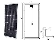 SOLAR PANEL 12V 100W MONO - PANNELLO SOLARE 12 VOLT 100 WATT #30050171-B