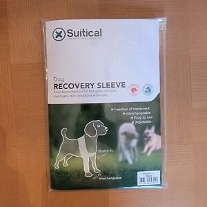 Suitical Dog Recovery Sleeve Large Black