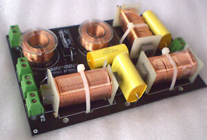 KENFORD 300W LAUTSPRECHERWEICHE 3 WEG 3 WEGE FREQUENZWEICHE PA HIFI 2 /9 kHz