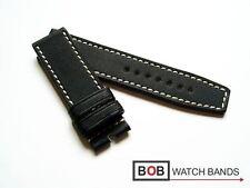 - NEU BOB Hi-Tech XL NYTECH UHRENARMBAND FÜR BREITDORNSCHLIESSE SCHWARZ 24-24 mm