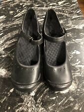 Clarks Privo Mary Jane shoes women's sz 10 black leather very comfy! *see picts