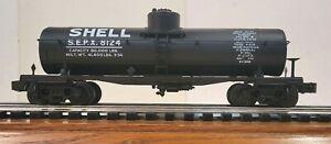 Lionel Train 6-51300 O-Gauge Shell Tankcar Die-Cast Body & Frame Semi-Scale(611)