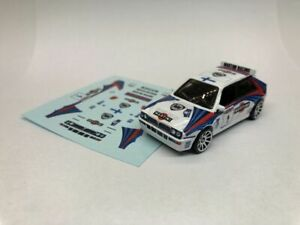 Race & Rally Decals for you Hot Wheels, Matchbox etc - Multiple choice listing