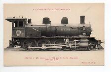 Chemin de fer LOCOMOTIVE Train réf.  34 ALGERIE chemin de fer de l'est algérien-