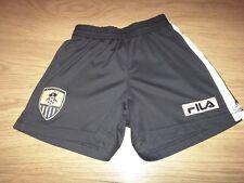 Notts County Football Shorts, Aged 6-7, Fila