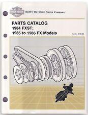 Harley Teilebuch teile Katalog FXST 84 FX 85 99455-86a