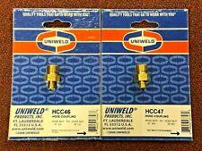 "Welding Hose Connectors, ""A"" Oxy-Acetylene To ""B"" Oxy-Acetylene, Hcc46 & Hcc47"