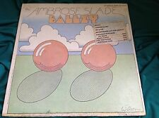 Rare Original 1969 Psych White Label Promo LP : Ambrose Slade ~ Ballzy ~ Fontana