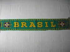 d3 sciarpa BRASILE football federation association scarf schal bufanda brasil