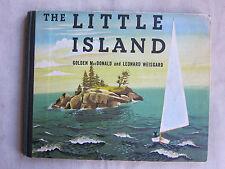 Old Children's Book The Little Island by Golden MacDonald 1946 VGC