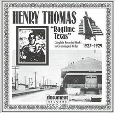 FREE US SHIP. on ANY 3+ CDs! ~Used,Very Good CD Henry Thomas: Ragtime Texas 1927