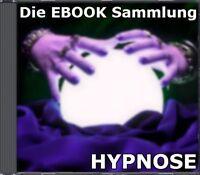 MEGA HYPNOSE PAKET - 5 Ebooks Sammlung Posten PDF englisch Hypnosis Pack NEU MRR