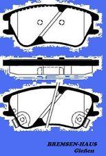Bremsbeläge vorne Hyundai Atos  Bj 98-08  für belüftete Bremsscheiben