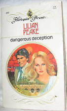 DANGEROUS DECEPTION by LILIAN PEAKE 1980