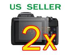 2x Nikon Coolpix L120 Clear LCD Screen Protector Guard Film