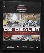 2008 HONDA DEALER MOTORCYCLE ACCESSORIES CATALOG GOLD WING VTX1800 SHADOW