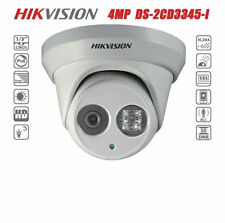 HIKVISION DS-2CD3345-I HD 4MP Dome PoE EXIR Turret Security CCTV IP Camera 2.8MM