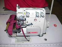 KANSAI  INDUSTRIAL SEWING MACHINE 3 THREAD OVERLOCKER NARROW WEDDING DRESS SEAMS