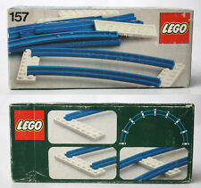 VERY RARE VINTAGE 1977 LEGO SYSTEM 157 TRAIN CURVED TRACK NEW MISB SEALED !
