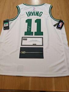 KYRIE IRVING - Boston Celtic Signed Authentic Nike Swingman Jersey Panini COA