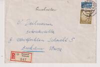 BUND, Mi. 191 EF, R-Dortmund/Huckarde - Beckum, 4.10.54