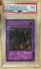 Yu-Gi-Oh! 2008 Ultimate Ancient Gear Golem LODT-EN043 Ultimate 1st Edition PSA 9