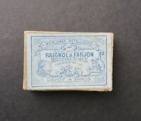 Boite plume BAIGNOL & FARJON 236 nibs box Schreibfeder pennini