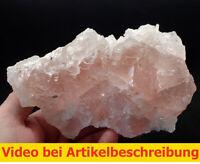 7459 Fluorit rosa UV Einschlüsse ca 10*9*16 cm Huanzala Peru  MOVIE