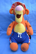 """DISNEY STORE EXCLUSIVE PLUSH TIGGER POOL PARTY 13"""" SEATED - NWT"""
